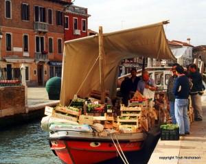 'Vegetable vendor Murano'