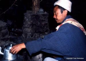 """camp cook in Bhutan"""