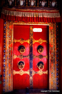 Potala door