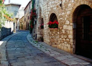 winding street