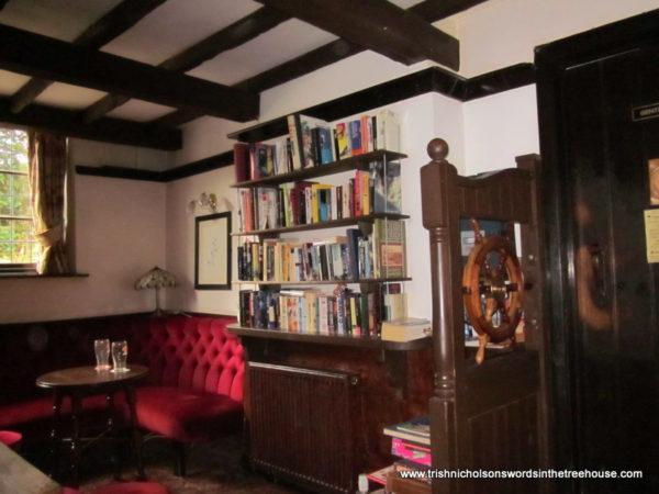 Book exchange at the Old Ship Inn, Lowdham
