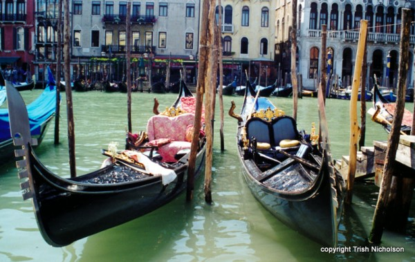 'Gondolers Venice'