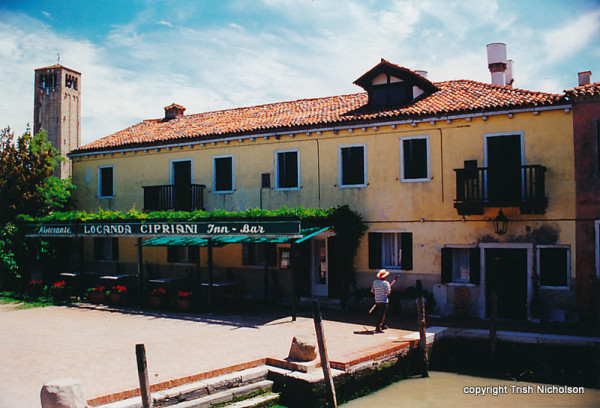 Locanda-Cipriani, where Hemingway stayed in Torcello