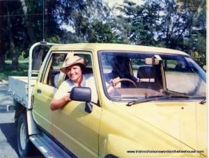 Trish Nicholson in Papua New Guinea