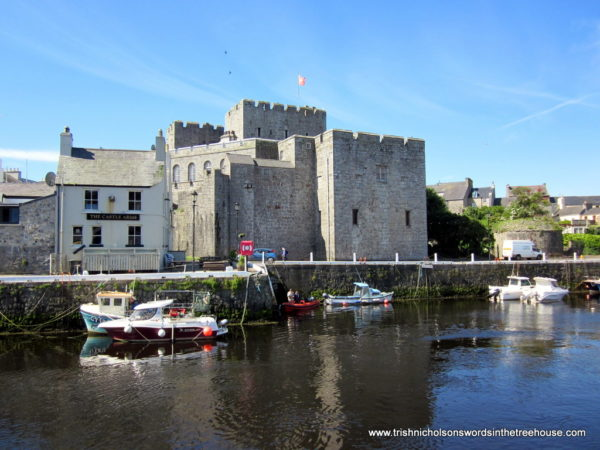 Castle Rushen from across the harbour