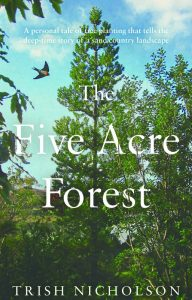 book cover for The Five Acre Forest